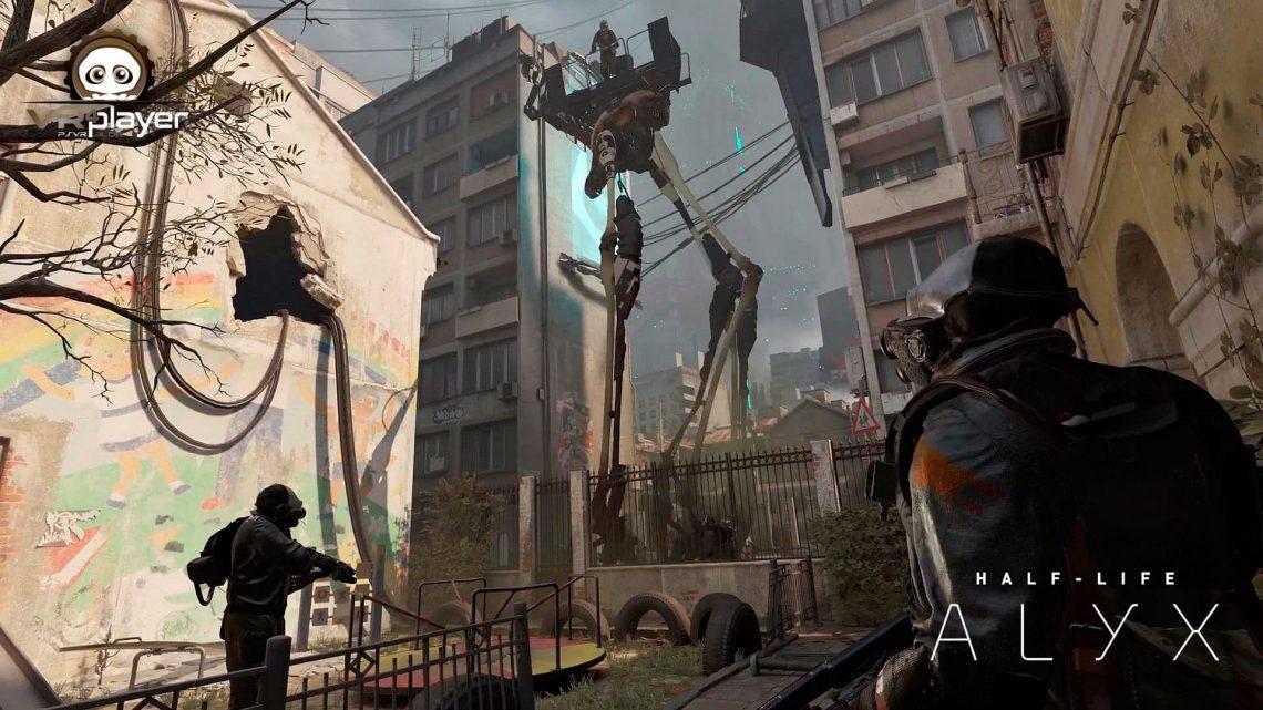 Half-Life Alyx PSVR PlayStation VR Sony VR4Player