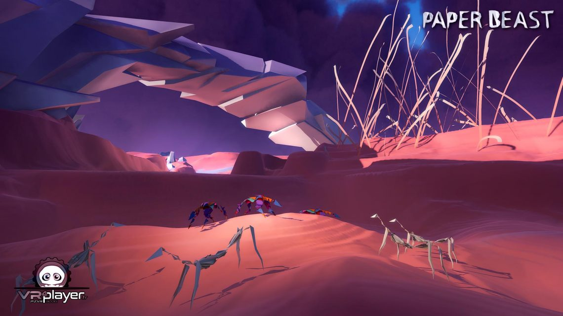 Paper Beast - PSVR PlayStation VR - -VR4player.fr