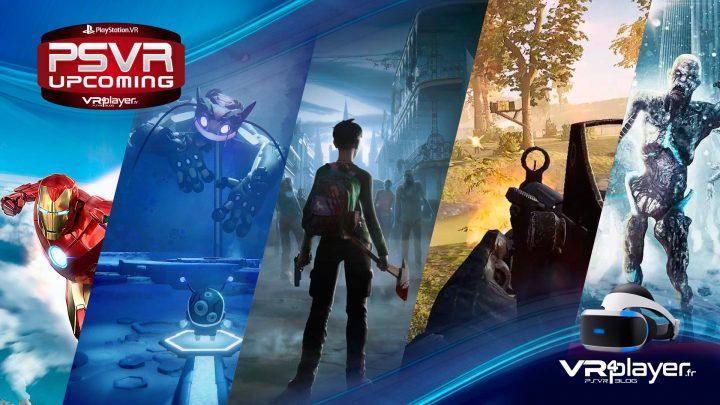 2020 : Les jeux PSVR PlayStation VR Upcoming VR4Player