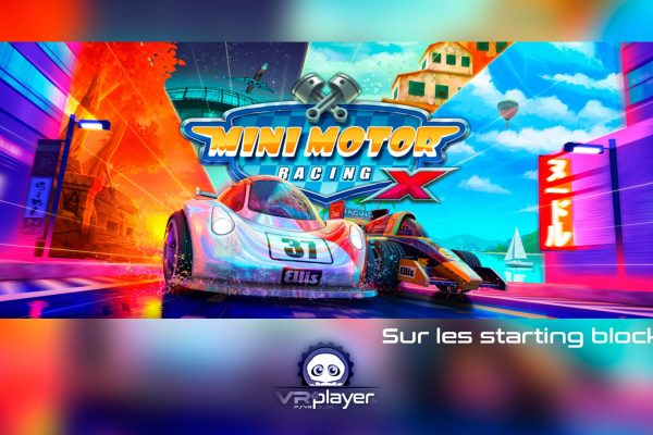 Mini Motor Racing X The Binary Mill PlayStation VR PSVR VR4Player