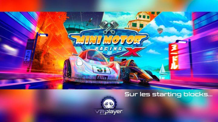 Mini Motor Racing X The Binary Mill PlayStation VR PSVR VR4Player
