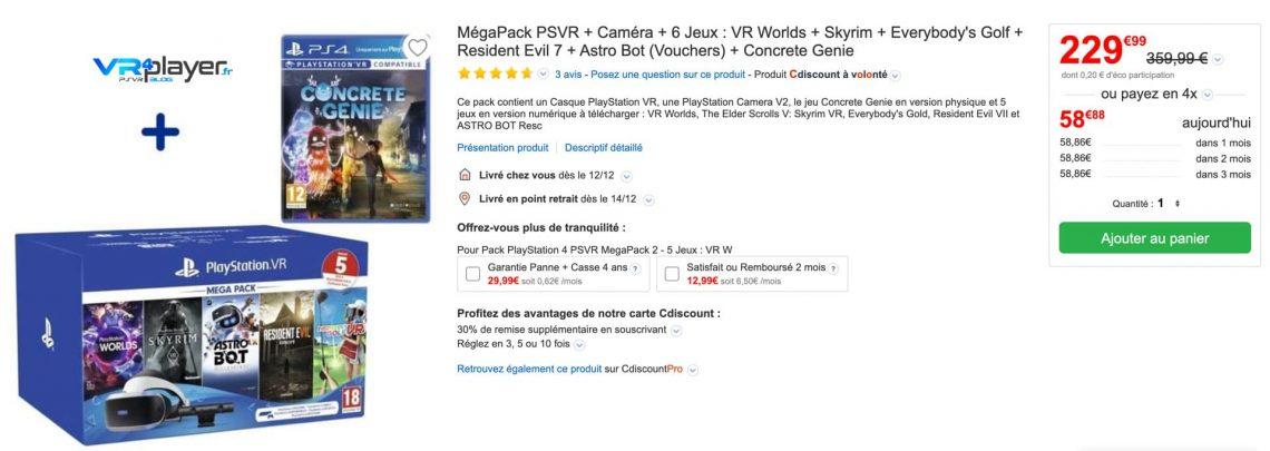 Black Friday - PSVR - PlayStation VR - VR4player