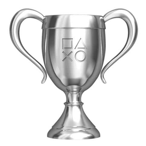 Trophée PlayStation ARGENT