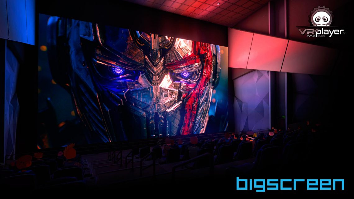 BigScreen sur PlayStation VR PSVR VR4PLAYER