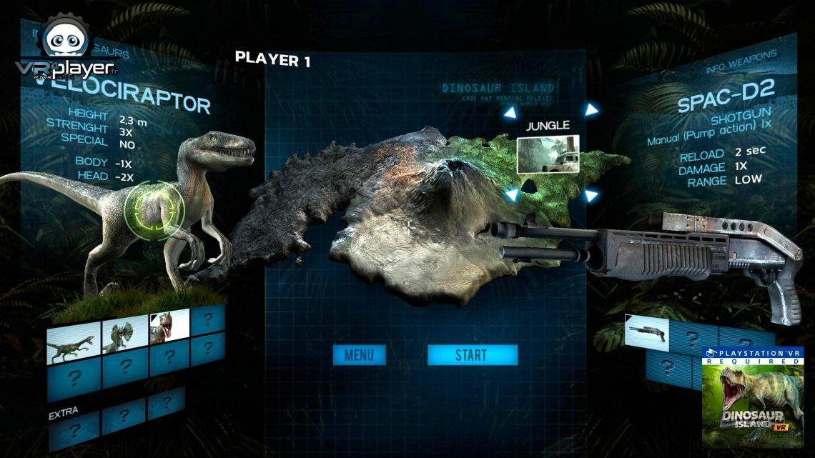 Dinosaur Island VR PSVR PlayStation VR VR4Player