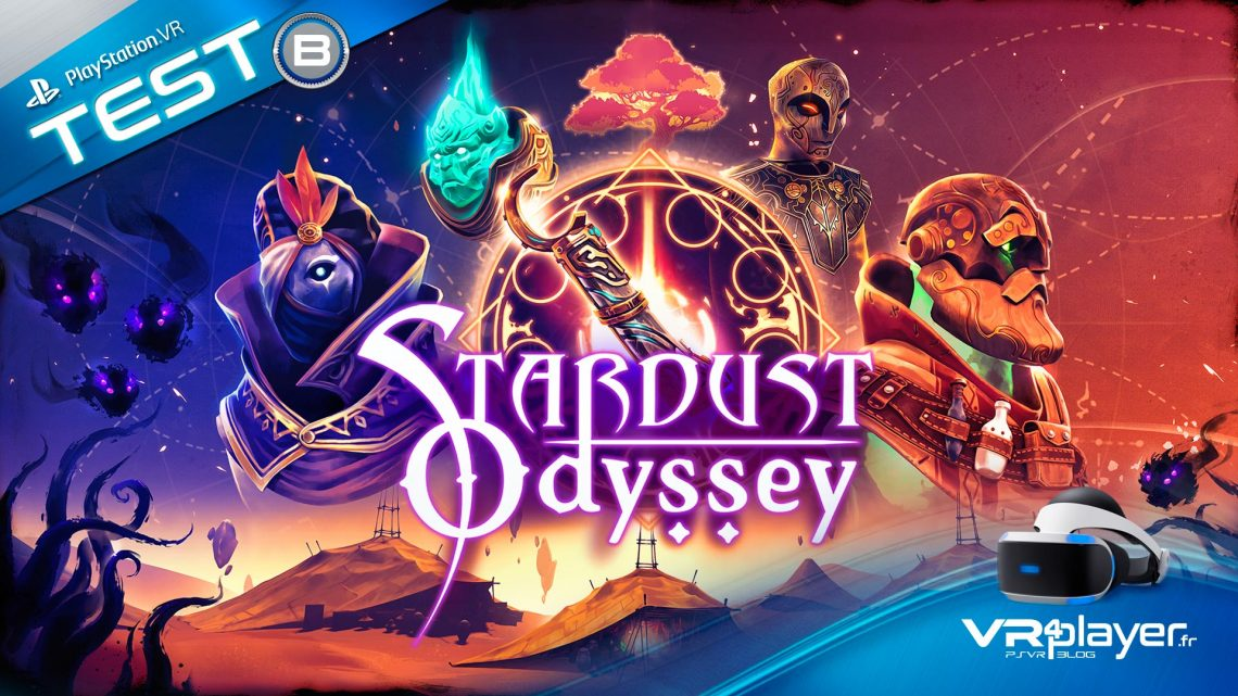 StarDust Odyssey TEST PlayStation VR PSVR VR4Player