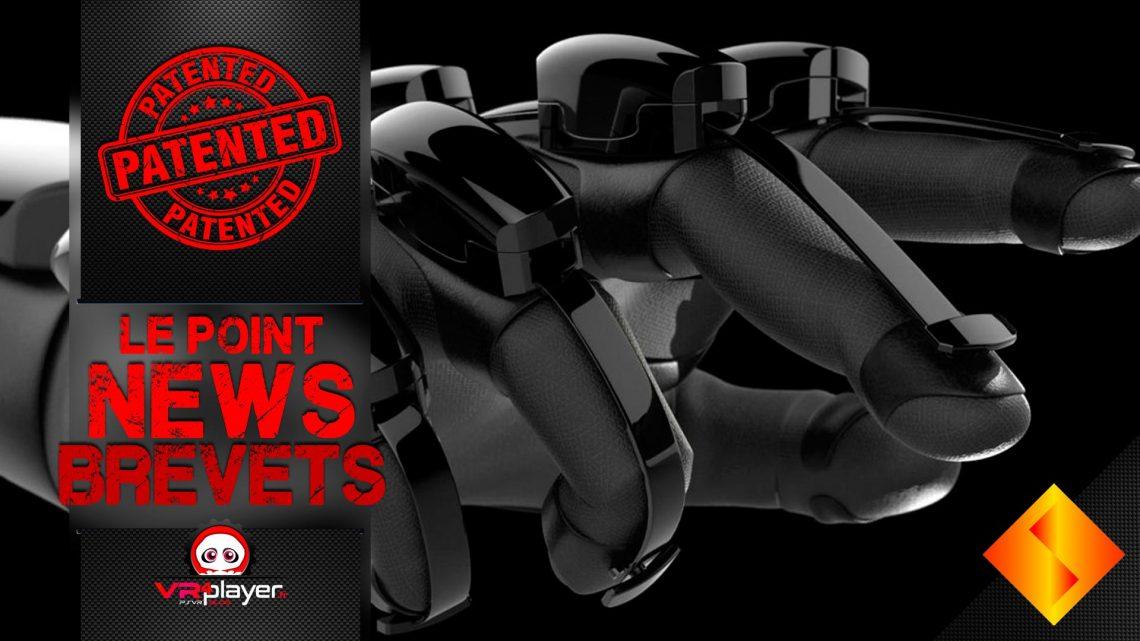 Brevets Sony Interactive Entertainment PSVR2 PlayStation VR 2 VR4Player