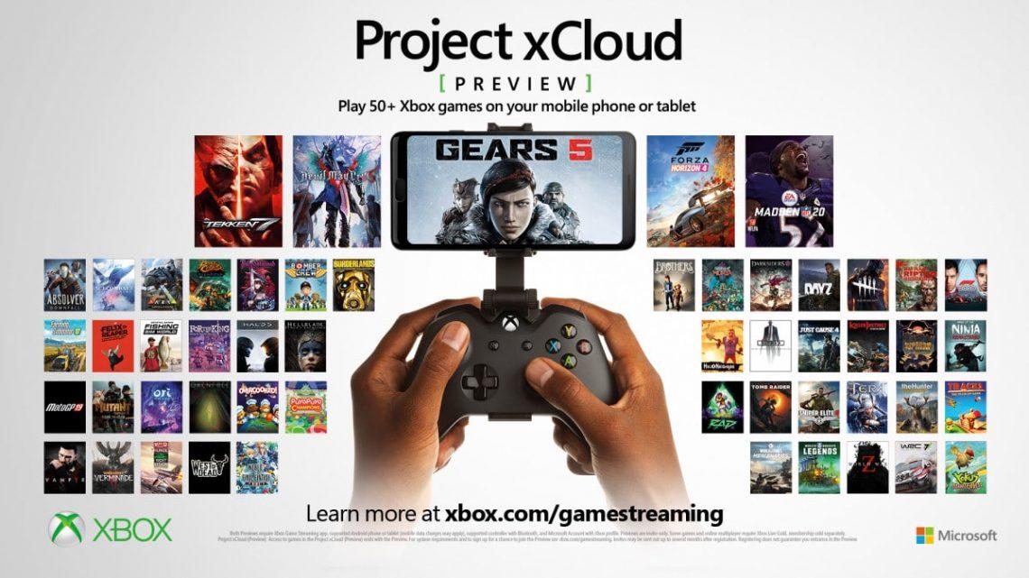 Xbox, XCloud PS5