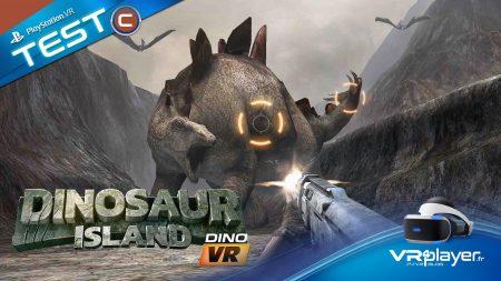 Dinosaur Island VR Test Review PlayStation VR PSVR VR4Player