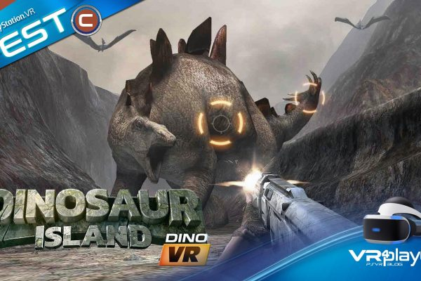 Dinosaur Island VR Test Review PlayStation VR PSVR VR4Player