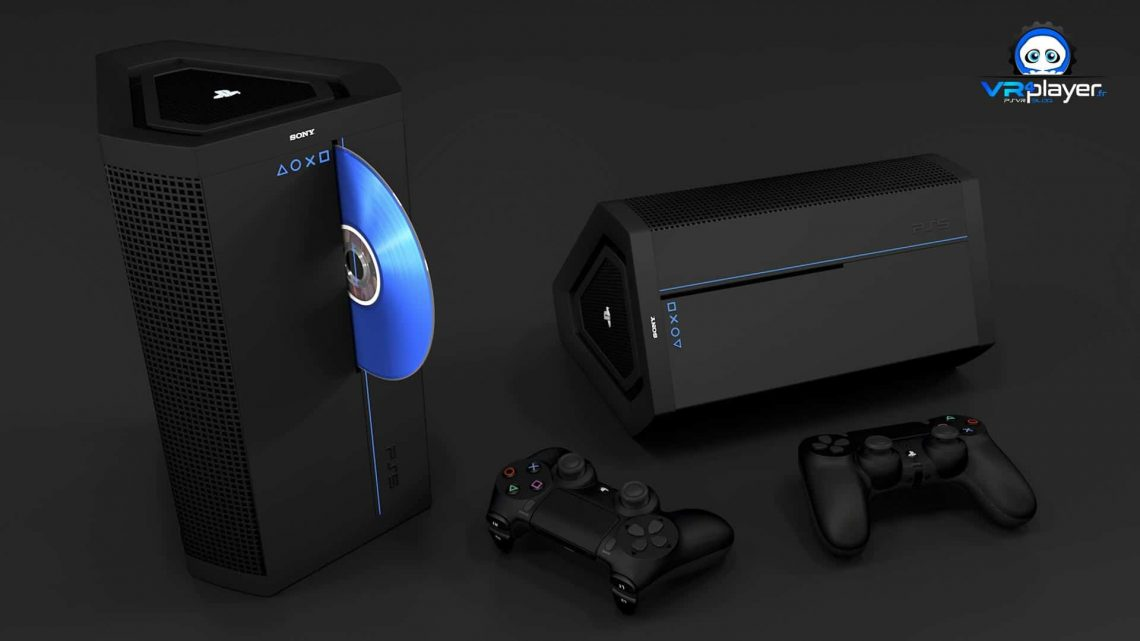 PS5 PlayStation 5 Concept VR4Player Sony