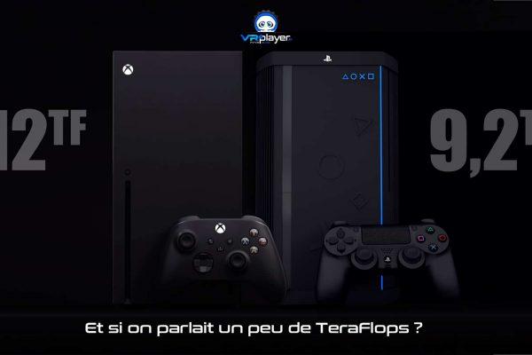 PlayStation 5 PS5 Xbox Series X TeraFlops VR4Player