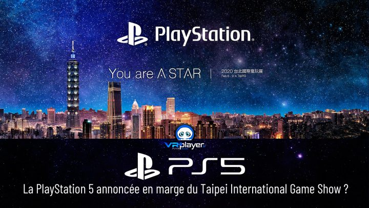 Taipei International Game Show TIGS TPGS SONY PlayStation 5 VR4Player PS5