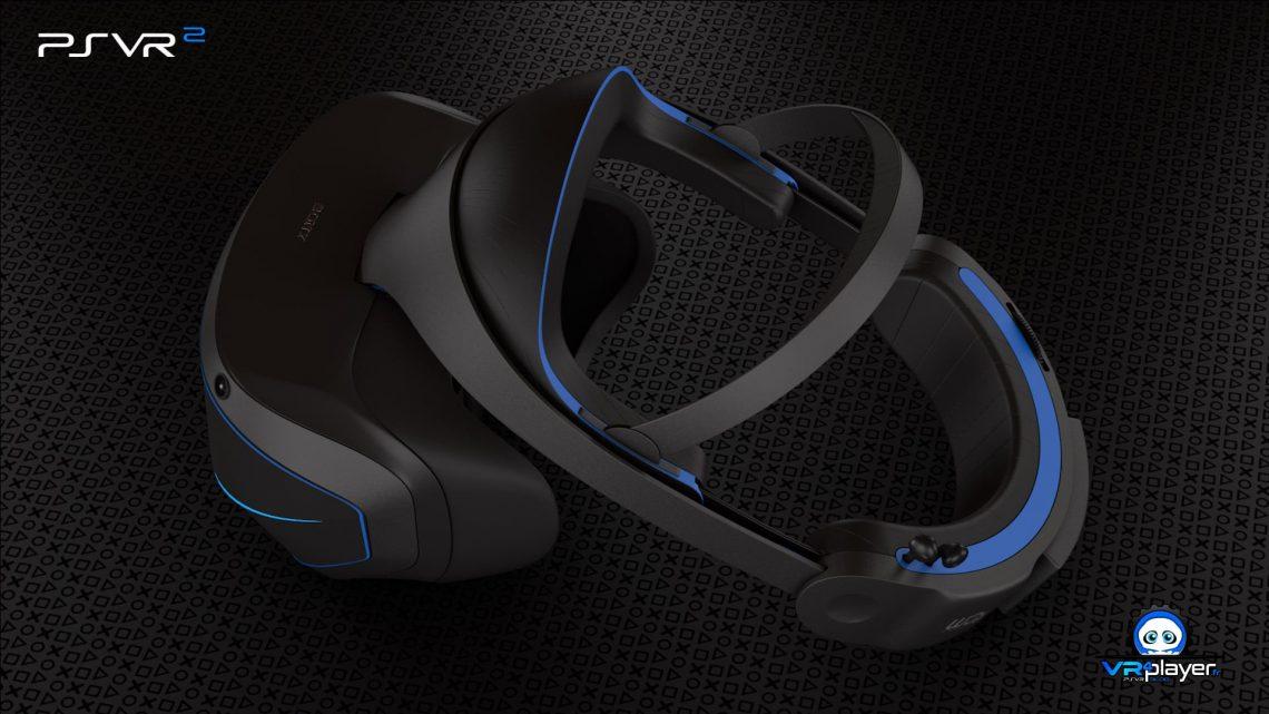 PSVR2 PlayStation VR 2 PSVR 2 Concept PS5 VR4player