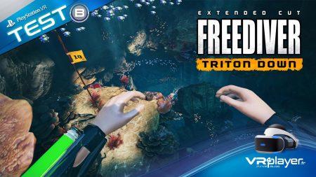 Freediver Triton Down Test Review PlayStation VR PSVR