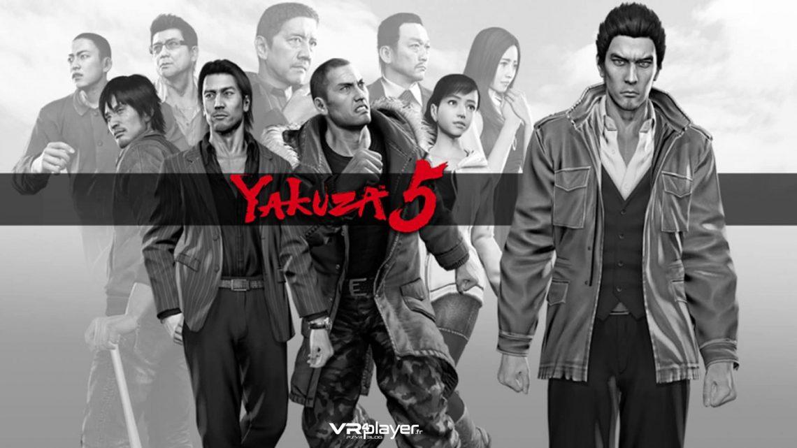 Yakuza 5 - PS4 - vr4player.fr