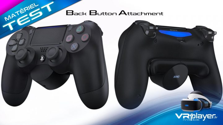 Back-button-attachment Accessoire PlayStation