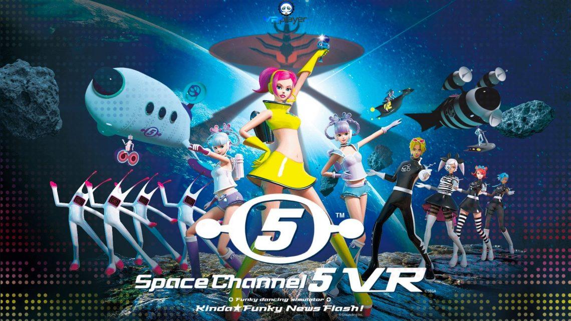 Space Channel 5 VR -PSVR -VR4player.fr