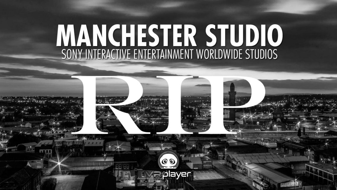 Manchester Studio RIP PSVR PlayStation VR
