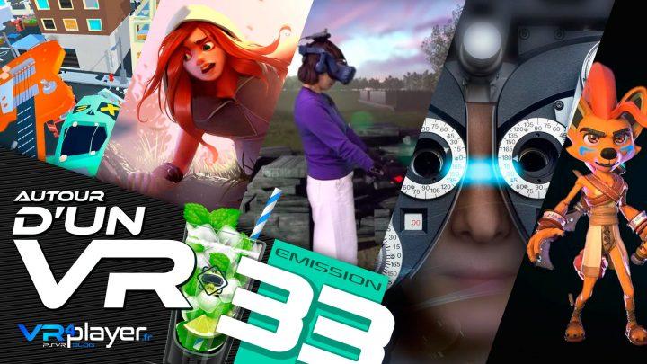 Podcast Autour d'un VR #33 VR4Player Médecine et VR Réalité Virtuelle