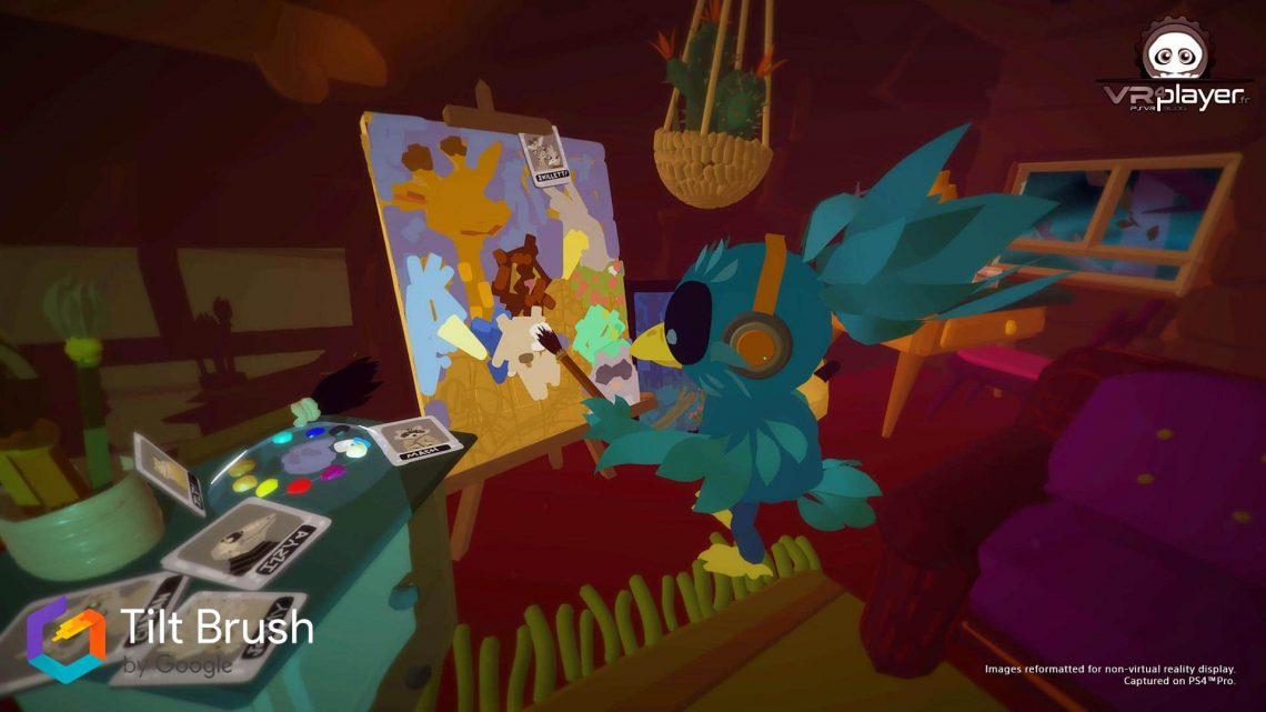 Tilt Brush Dessin VR 3d sur PSVR PlayStation VR