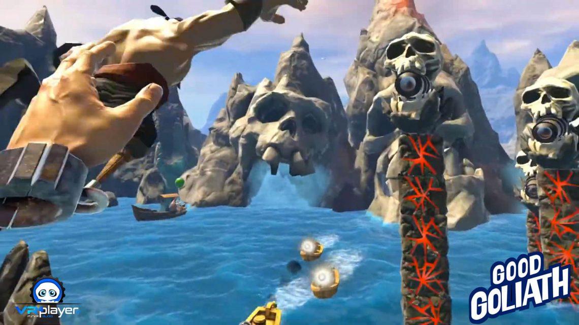 Good Goliath prévu sur PC VR et PlayStation VR