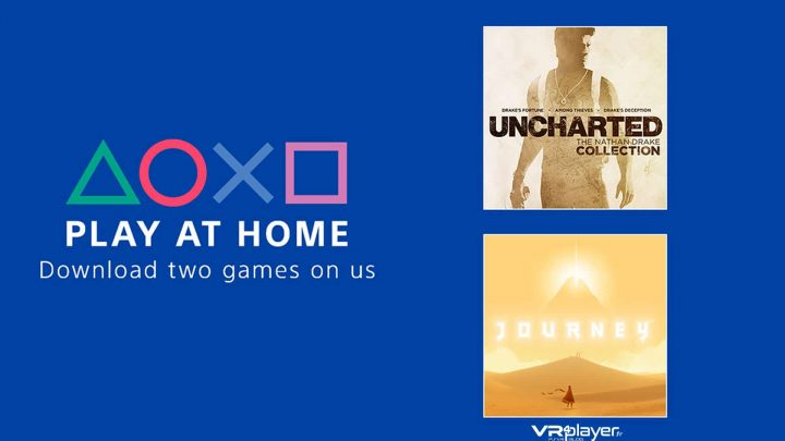 Jeux gratuits PlayStation Play At Home