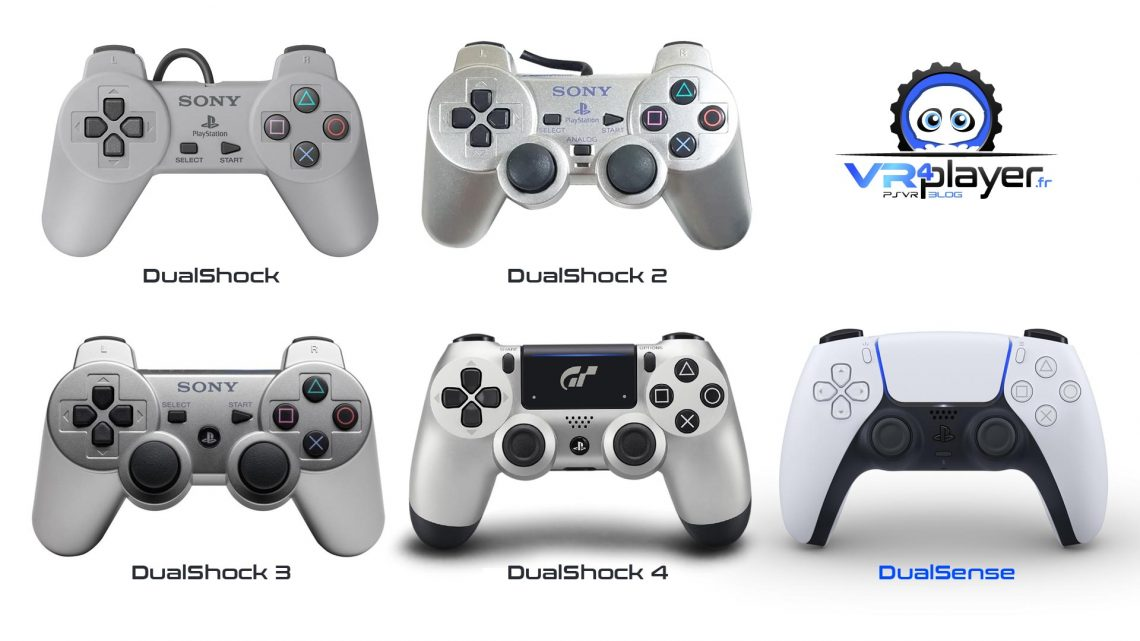 DualSense DualShock 5 Sony PS5 Official VR4Player
