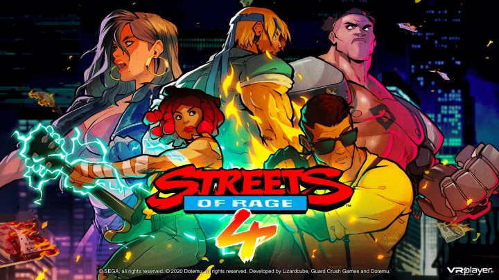 Streets of Rage 4 sur PS4, Nintendo Switch, PC et Xbox