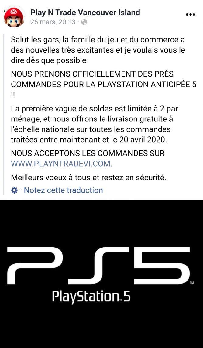 Précommandes PlayStation 5, PS5 : Sérieusement ?