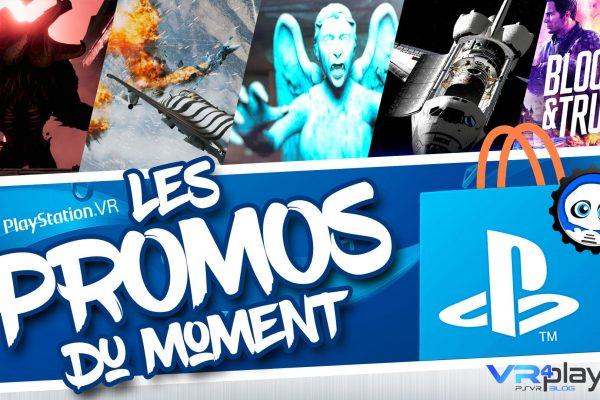 Promos du PlayStation Store durant le confinement (2ème vague) VR4player.fr