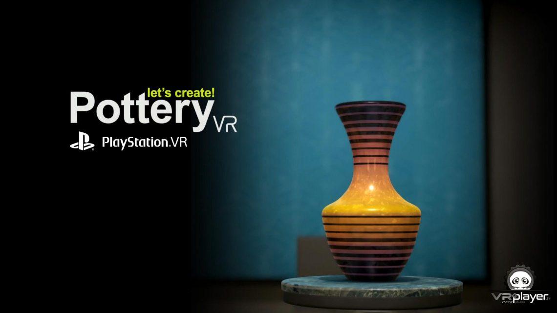 Pottery VR PSVR PlayStation VR