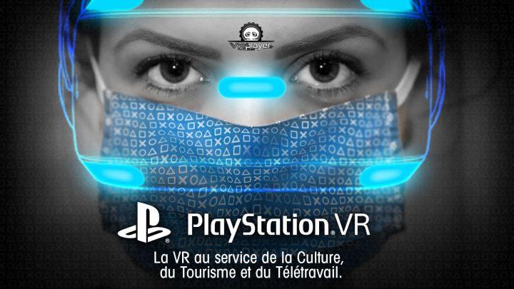 Covid-19, la Réalité Virtuelle PSVR PlayStation VR en soutien à la culture VR4Player