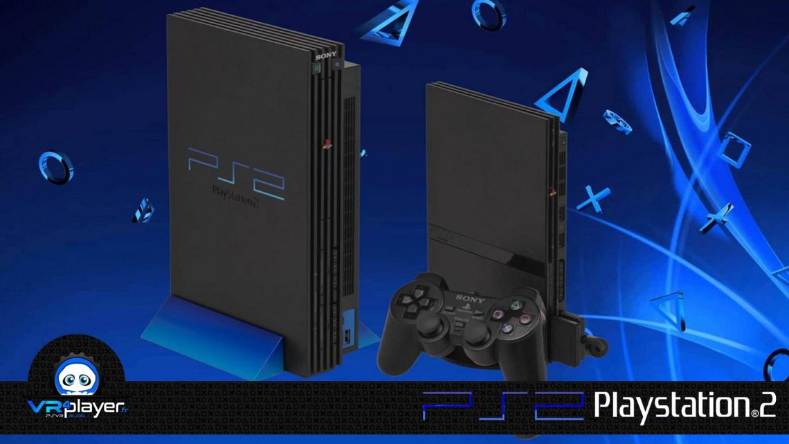 PlayStation 2 PS2 VR4Player Version commerciale