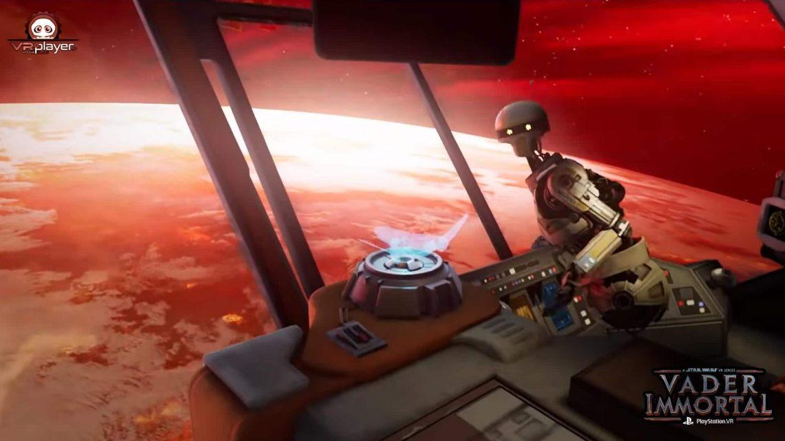 Vader Immortal PSVR PlayStation VR VR4Player
