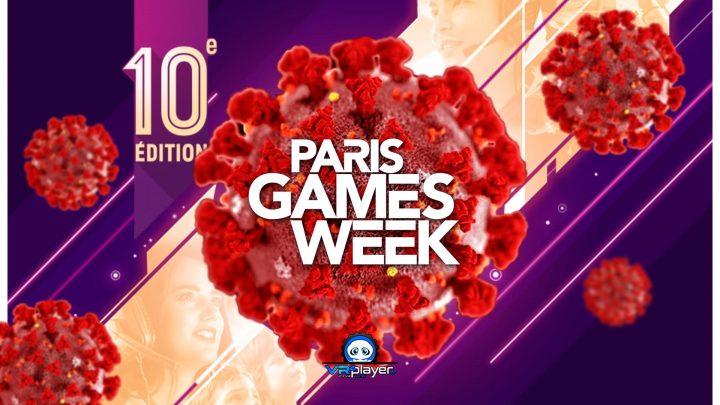 Paris Games Week COVID 19