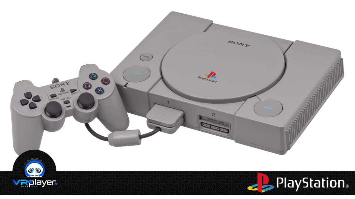 PlayStation 1 PS1 VR4Player Version commerciale