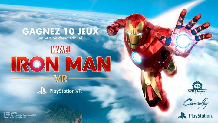 Concours IRON MAN VR Gagnez 10 jeux PlayStation VR PSVR sur VR4Player