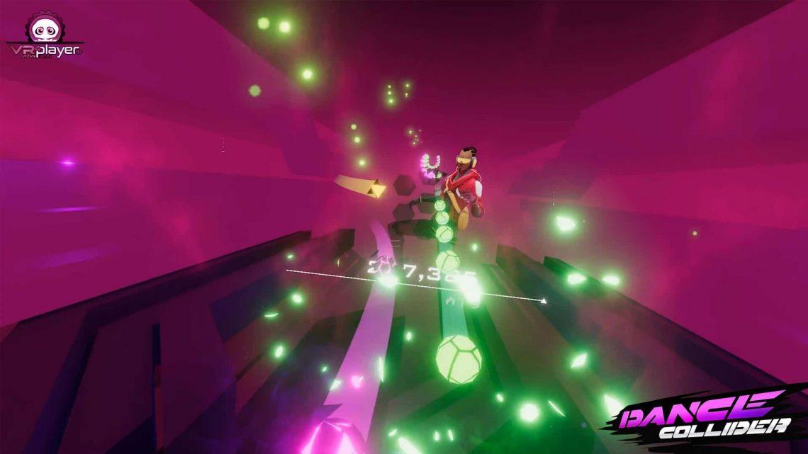 Dance Collider PSVR PlayStation VR VR4Player