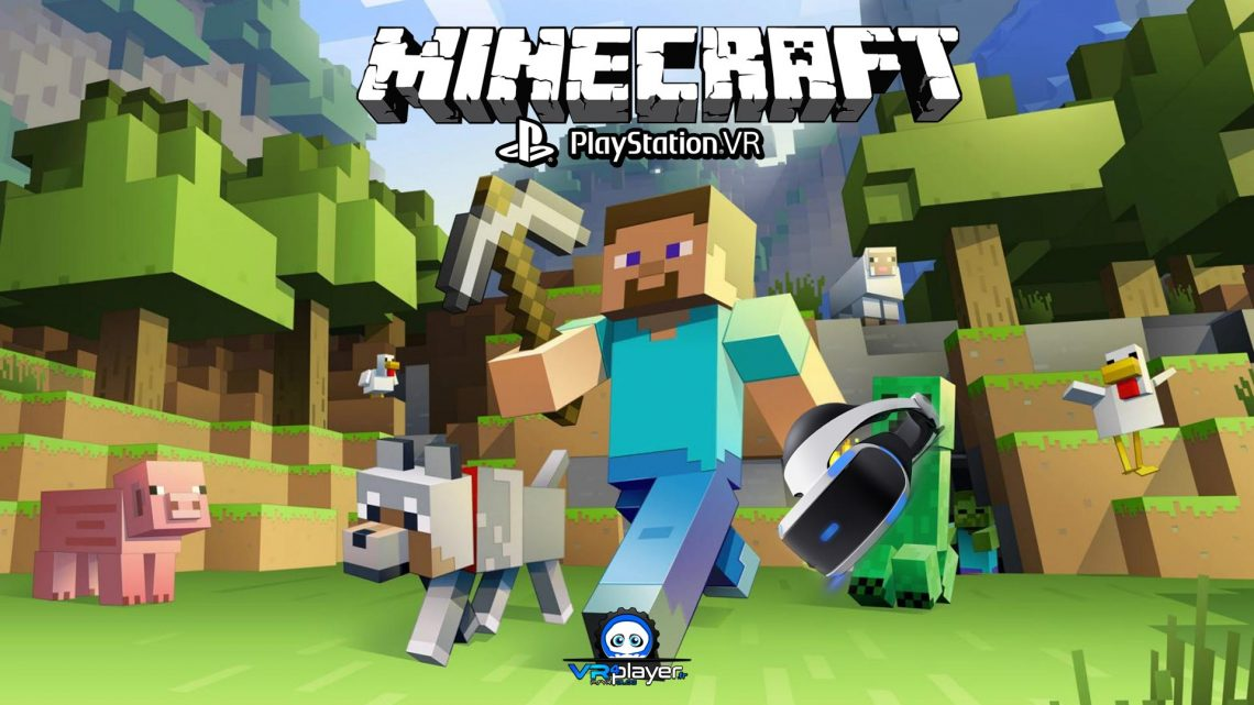 Minecraft PSVR PlayStation VR VR4Player