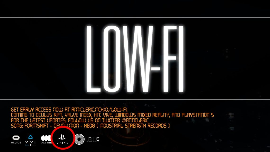LOW-FI officiel sur PS5 VR