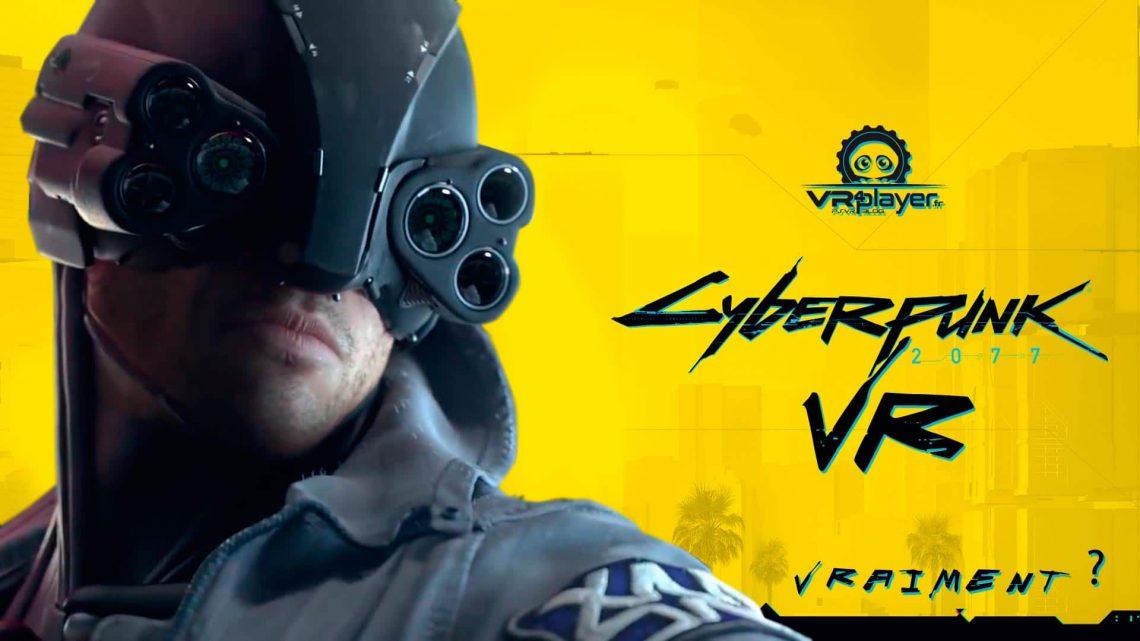 CYBERPUNK 2077 VR CD Projekt Red VR4player