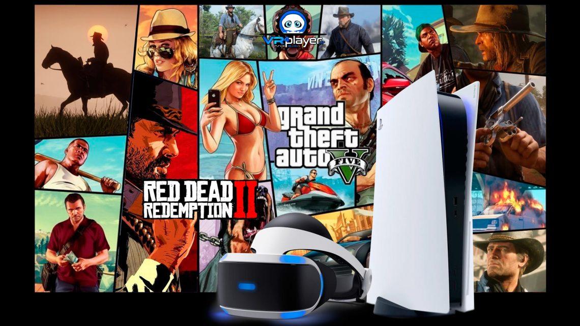 GTA V, Red Dead Redemption II une possible adaptation en VR sur PSVR PlayStation VR VR4player
