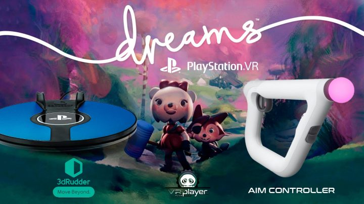 Dreams VR PSVR PlayStation VR AIM Controller 3dRudder