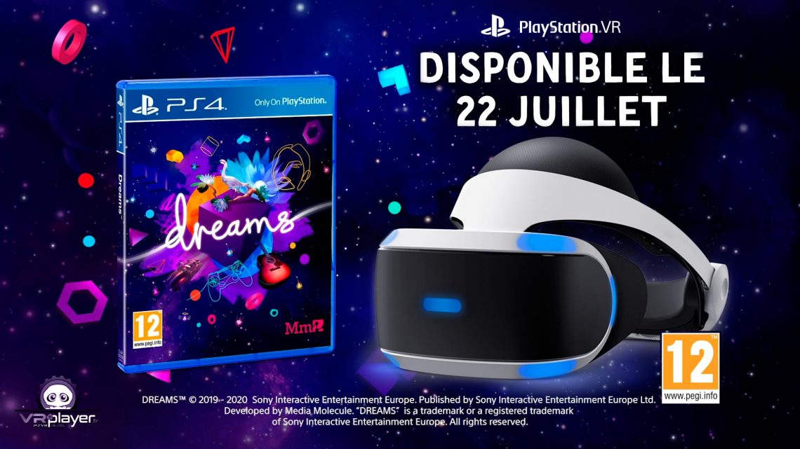 DREAMS VR PSVR PlayStation VR VR4Player