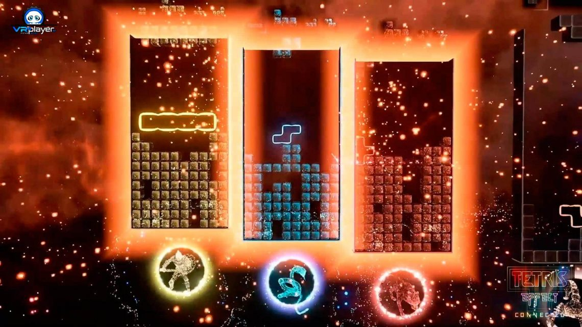 Tetris Effect Connected PSVR PlayStation VR VR4Player