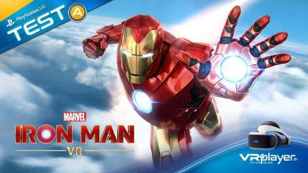 Test Marvel's Iron Man VR sur PlayStation VR PSVR Verdict final VR4Player