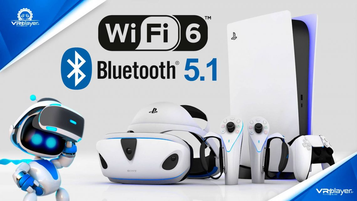 PS5 PlayStation 5 Wi-Fi 6 Bluetooth 5.1 PSVR2 PlayStation VR