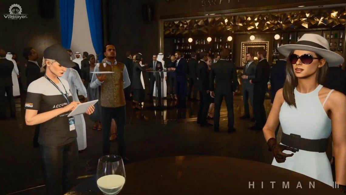 HITMAN 3 PlayStation VR PSVR VR4Player