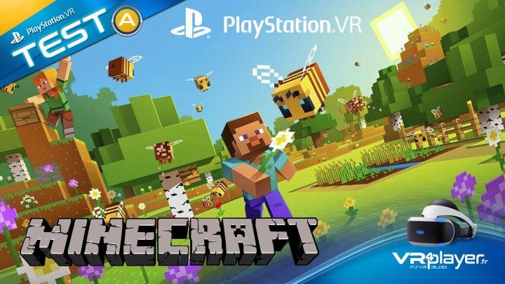 Minecraft VR Test PlayStation VR PSVR VR4PLayer